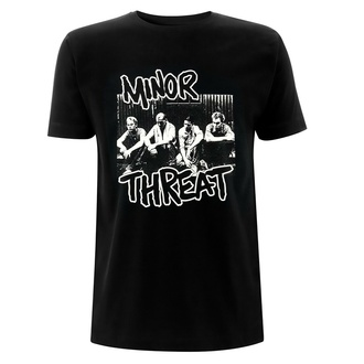 T-shirt pour homme Minor Threat - Xerox - Noir, NNM, Minor Threat