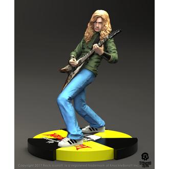 Figurine Megadeth - Dave Mustaine - Roche Iconz Statue, KNUCKLEBONZ, Megadeth