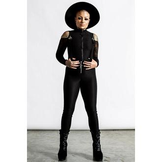 Pantalon pour femmes KILLSTAR - Never cross Me  - Noir, KILLSTAR