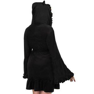 Peignoir de bain aux femmes KILLSTAR - NIGHT MARRY - NOIR, KILLSTAR