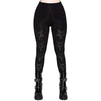 Pantalon (leggings) pour femmes KILLSTAR - Night Terror - NOIR, KILLSTAR