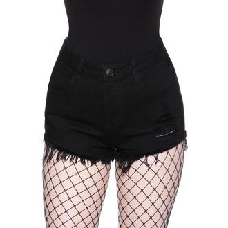 Shorts pour femmes KILLSTAR - Nothing Goes Denim, KILLSTAR