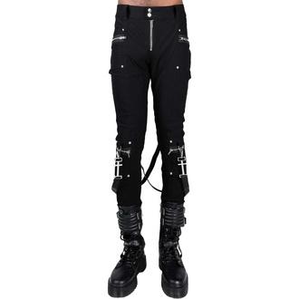 pantalon pour hommes KILLSTAR - Office Riot Strappy - Noir, KILLSTAR