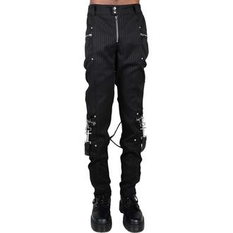 Pantalon pour hommes KILLSTAR - Office Riot Strappy - Rayure fine, KILLSTAR