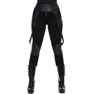 Pantalon pour femmes KILLSTAR - Outshined Denim jeans - NOIR, KILLSTAR