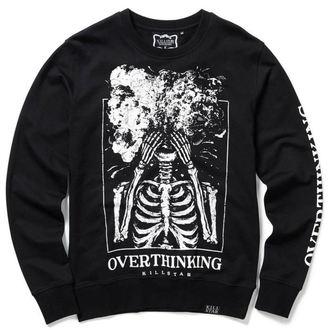 sweat-shirt sans capuche unisexe - OVERTHINKING - KILLSTAR, KILLSTAR