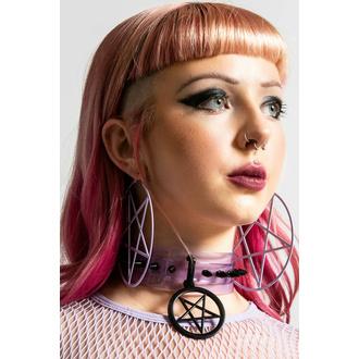 boucle d'oreille KILLSTAR - Pentagram Hoop - Lilas, KILLSTAR
