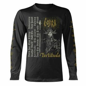 T-shirt pour homme à manches longues GOJIRA - FORTITUDE TRACKLIST - BIOLOGIQUE - PLASTIC HEAD, PLASTIC HEAD, Gojira