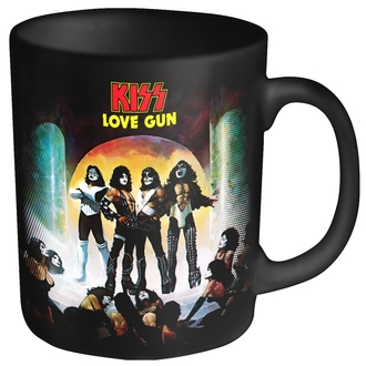 mug KISS - LOVE GUN - PLASTIC HEAD, PLASTIC HEAD, Kiss