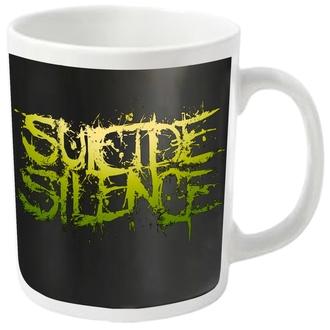 mug SUICIDE SILENCE - LOGO - PLASTIC HEAD, PLASTIC HEAD, Suicide Silence
