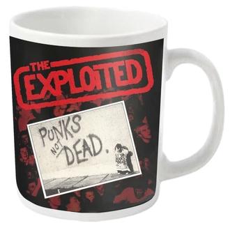 mug EXPLOITED - PUNKS NOT DEAD - PLASTIC HEAD, PLASTIC HEAD, Exploited