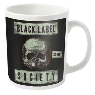 mug BLACK LABEL SOCIETY - DOOM TROOPER - PLASTIC HEAD, PLASTIC HEAD, Black Label Society