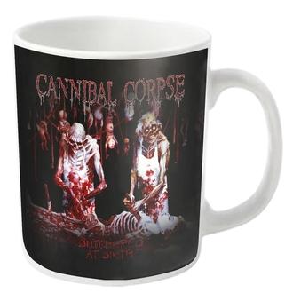 Mug CANNIBAL CORPSE - BUTCHERED - blanc - PLASTIC HEAD, PLASTIC HEAD, Cannibal Corpse