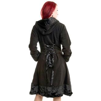 Manteau pour femme POIZEN INDUSTRIES - MINX - NOIR, POIZEN INDUSTRIES