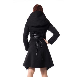 Manteau pour femmes POIZEN INDUSTRIES - TEARS - NOIR, POIZEN INDUSTRIES