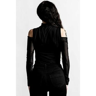 T-shirt pour femmes à manches longues KILLSTAR - Point It Out - Noir, KILLSTAR