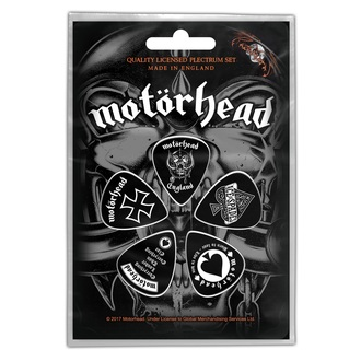 Médiators MOTORHEAD - ENGLAND - ROCK OFF, ROCK OFF, Motörhead