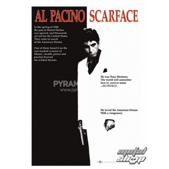affiche Scarface (Movie One-sheet) - PP30091, PYRAMID POSTERS, Scarface