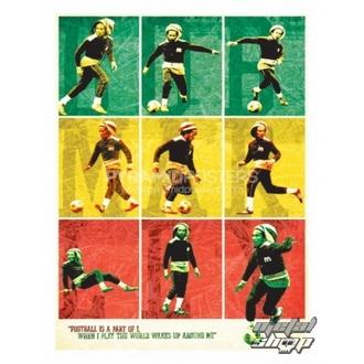 affiche Bob Marley (Football) - PP30504, PYRAMID POSTERS, Bob Marley