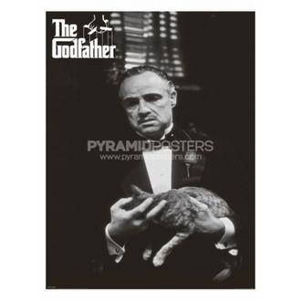 affiche - Parrain (Cat B & W) - PP30526, PYRAMID POSTERS