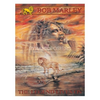 affiche - Bob Marley (Legend Lives On) - PP30664, PYRAMID POSTERS, Bob Marley