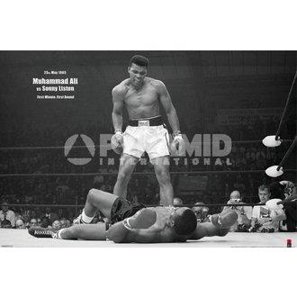affiche Muhammad Ali (EN Liston Landscape) - PYRAMID POSTERS, PYRAMID POSTERS, Muhammad Ali