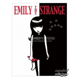 affiche - Emily The Strange (Strange Face) - PP31523, EMILY THE STRANGE