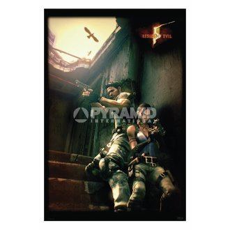 affiche Resident Evil 5 (Against A Wall) - PP31862, PYRAMID POSTERS