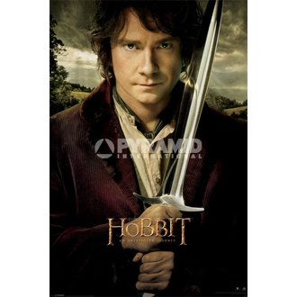 affiche The Hobit - Bilbo - de pyramides Affiches, PYRAMID POSTERS