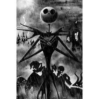 Affiche Nightmare Before Christmas, NNM, Nightmare Before Christmas