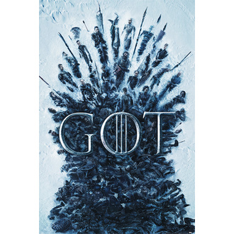 Affiche Game of thrones, NNM, Game of Thrones