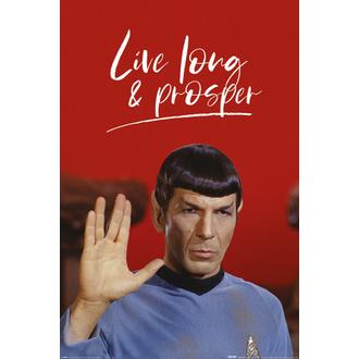 Affiche STAR TREK - LIVE LONG AND PROSPER - PYRAMID POSTERS, PYRAMID POSTERS, Star Trek