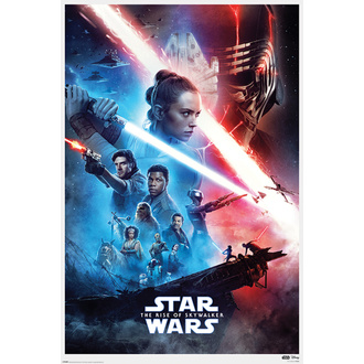 Affiche STAR WARS - IX-RISE OF SKYWALKER - PYRAMID POSTERS, PYRAMID POSTERS, Star Wars