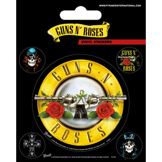 Autocollants Guns N' Roses - PYRAMID POSTERS, PYRAMID POSTERS, Guns N' Roses