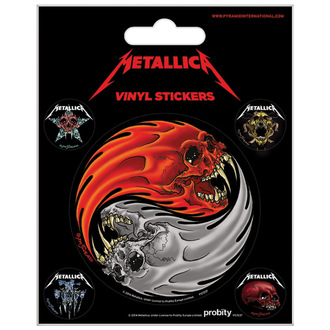 Autocollants Metallica - PYRAMID POSTERS, PYRAMID POSTERS, Metallica