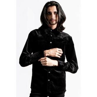 Chemise pour homme KILLSTAR - Pull The Cord Button-Up - Noir, KILLSTAR