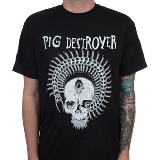 T-shirt Pig Destroyer pour hommes - Prescott - Noir - INDIEMERCH, INDIEMERCH, Pig Destroyer
