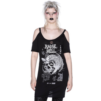T-shirt pour femmes KILLSTAR - Raise Hell - Détresse, KILLSTAR