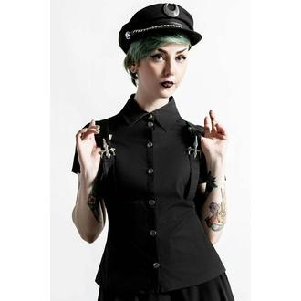 Chemise pour femme KILLSTAR - To The Nines - Noir, KILLSTAR