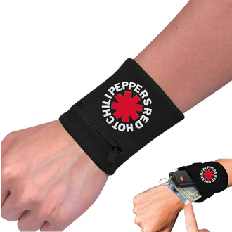 Bracelet Red Hot Chili Peppers - Asterisk Black, NNM, Red Hot Chili Peppers