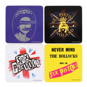 Sous-verres Sex Pistols - ROCK OFF, ROCK OFF, Sex Pistols