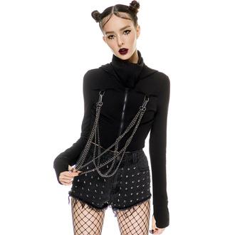 Sweat-shirt pour femme KILLSTAR - Rogue Masked - Noir, KILLSTAR
