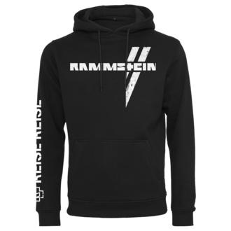 Sweat à capuche pour hommes Rammstein - Weißes Kreuz - noir, NNM, Rammstein