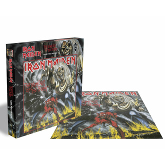 Puzzle IRON MAIDEN - THE NUMBER OF THE BEAST - 1000 PIÈCES - PLASTIC HEAD, PLASTIC HEAD, Iron Maiden