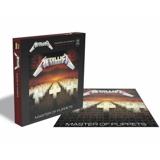 puzzle METALLICA - MASTER OF PUPPETS - 1000 PIÈCES, PLASTIC HEAD, Metallica