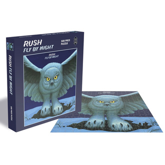 Puzzle RUSH - FLY BY NIGHT - PLASTIC HEAD, PLASTIC HEAD, Rush