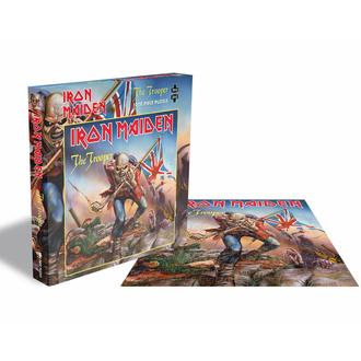 Puzzle IRON MAIDEN - THE TROOPER - 1000 PIÈCES - PLASTIC HEAD, PLASTIC HEAD, Iron Maiden