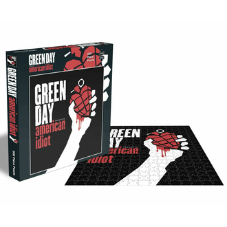 Puzzle GREEN DAY - AMERICAN IDIOT - 500 PIÈCES - PLASTIC HEAD, PLASTIC HEAD, Green Day