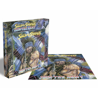 Puzzle SUICIDAL TENDENCIES - JOIN THE ARMY - 500 PIÈCES - PLASTIC HEAD, PLASTIC HEAD, Suicidal Tendencies