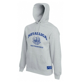 sweatshirt pour homme Metallica - San Francisco - Gris, NNM, Metallica